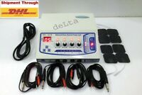 4 Ch Electrotherapy Physical Relief Therapy New Electrotherapy machine FHUF