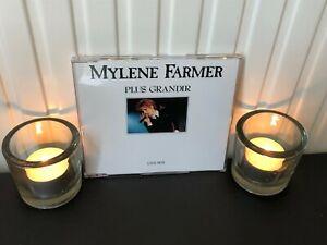Mylene Farmer Plus Grandir Live CD Maxi 3 Titres Très Bon Etat