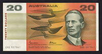 Australia R-409b.  (1985) 20 Dollars.  Johnston/Fraser - Gothic..  VF