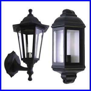 Traditional Outdoor Garden Wall Light Lantern Coach Lighting Vintage IP44 Lamp