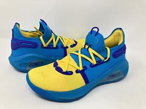 "Under Armour Curry 6 PE ""Family Business""Men's Shoe's 3022386-310 Size 7.5 *RARE"