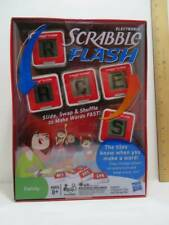 Hasbro Electronic Scrabble Flash Ages 8+ Includes 5 Electronic Tiles & Storage B