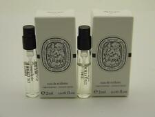 2 x Diptyque EAU DE LIERRE EDT Vial Sample SPRAY 0.06 fl oz 2ml