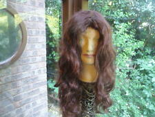 long  brown  wig  NEW