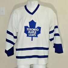 Vintage Early 1990's Toronto Maple Leafs CCM NHL Hockey Jersey Mens Size Medium