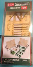Peco Cricket Ground Accessories 5401