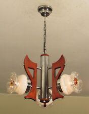 SPECTACULAR! Italian MAZZEGA MURANO Mid Century Modern Light Fixture RESTORED!