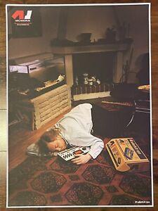 Elektron Original Poster - Machinedrum Sleeping Leffe - ULTRA RARE