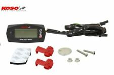 Compte-tours 15000tr/min Compteur d'heuresDigital KOSO mini style Moto Scooter