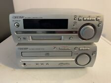 Sharp MD-MX10H Cd Minidisc Player Hifi System Amplifier Radio