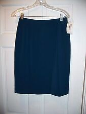 NWT Lord & Taylor Career Skirt Size 4P Above the Knee Blue
