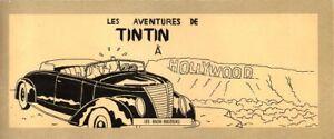 Les Aventures de Tintin à Hollywood (Livre de Poche Pastiche ou Parody)