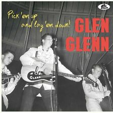 Glen Glenn 25 CM – 10 inch LP - Pick 'Em Up And Lay 'Em Down - NEW Limited Ed.