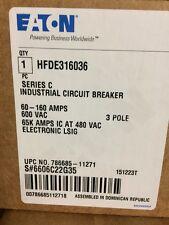 HFDE316036 Cutler Hammer Eaton 60-160 Amps LSIG