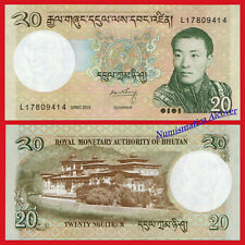 BHUTAN 20 Ngultrum 2013 Pick 30b SC  /  UNC