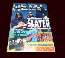 SLAYER - 1995 Metal Magazine #246 Argentina