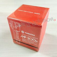 NAGAOKA MP-200H Shell Cartridge & Headshell MP Type Phono MM Original Brand New