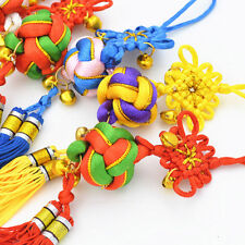 Chinese Knot Hanging Decoration Accent Colors Ball Pendant Meaningful