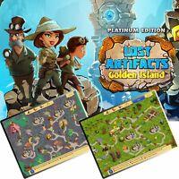 ⭐️ Lost Artifacts 2 - Golden Island - Platinum Edition - PC / Windows ⭐️