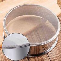New Ultra-fine 60 Mesh Hand-held Stainless Steel Powder Sieve 6 inch Flour Top