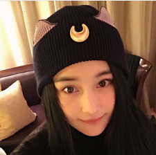 Sailor Moon Luna Character Winter Beanie Knit Hat Gift Rare New Cosplay