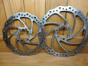 Tektro 6 hole disk brake 180mm or 160mm