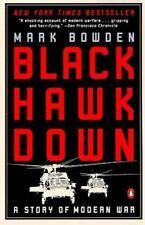 Black Hawk Down paperback book by Mark Bowden FREE SHIPPING Blackhawk modern war
