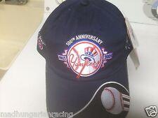 YOGI BERRA NY YANKEES 100TH ANNIVERSARY HAT CAP RICHARD PETTY NEW W/Tag RARE