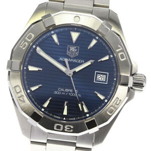 TAG HEUER Aqua racer WAY2112-0 Date blue Dial Automatic Men's Watch_633345