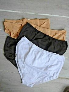 Petite Fleur Slip Unterhose Panty 5 er Pack Gr. 48/50 mehrfarbig (068) Übergröße