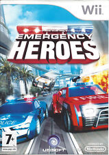 EMERGENCY HEROES for Nintendo Wii - with box & manual - PAL