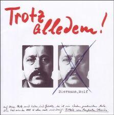 WOLF BIERMANN - TROTZ ALLEDEM!  CD NEU