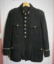 Veste, vareuse d'officier sapeur pompier 1940/50.