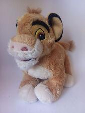 "Original Simba Plush Toy - The Lion King (Disney, TCC Global) 10"" - 25 cm - Used"