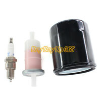 Tune Up Kit Oil Fuel Filter For Kawasaki Mule KAF400 KAF 400 600 610 2008 - 2016
