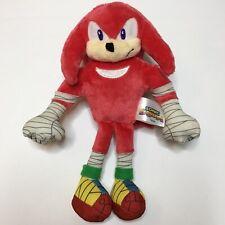 "Knuckles TOMY Sonic Boom Sonic The Hedgehog Plush 9"" Rare"