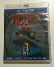 Monster House in 3D Blu-Ray Disc *Brand New*Factory Sealed* (1 Qty)