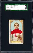 1911-12 C55 Imperial Tobacco #18 Steve Vair SGC 70