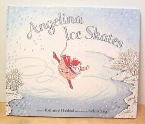 American Girl Angelina Ballerina ANGELINA ICE SKATES Hardcover Book