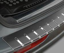 VW POLO V 5-porte dal 2009 PROTEZIONE PARAURTI IN ACCIAIO CROMO + CARBONIO