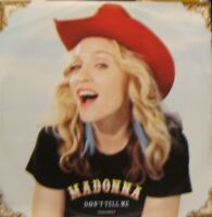 Madonna Don't Tell Me 4 track Uk 12""