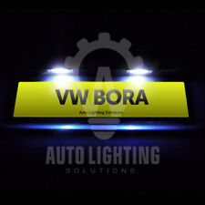 VW Bora Xenon White LED Number Plate / License Light Bulbs Upgrade *SALE*