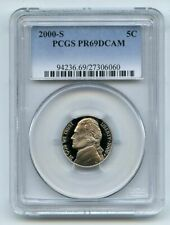 2000 S 5C Jefferson Nickel PCGS PR69DCAM