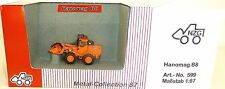 Hanomag B8 Radlader orange NZG 599 Metall Collection 1:87 OVP LD2 µ *