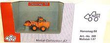 Hanomag B8 Radlader orange NZG 599 Metal Collection 1:87 OVP LD2 µ √