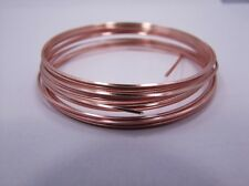 Square 18GA Beadsmith Rose Gold Color Non Tarnish  Wire 4 Yards