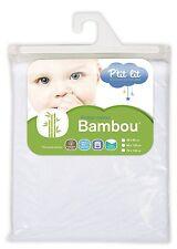P'tit Lit Protège-Matelas li bébé  alèse bambou - 60x120 cm -  NEUF