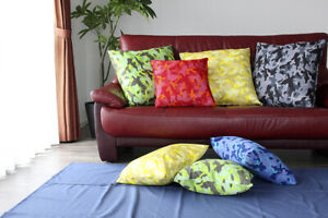 Cushion Square Home Decoration Camouflage Pattern with Cushion Cover JAPAN