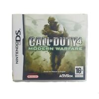 Call of Duty 4:Modern Warfare Nintendo DS 16+ First Person Shooter Game Free P&P