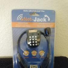 NETJACK NET-JACK UNIVERSAL HEADSET. VoIP, Tablets, Smart Phones Skype, Google.